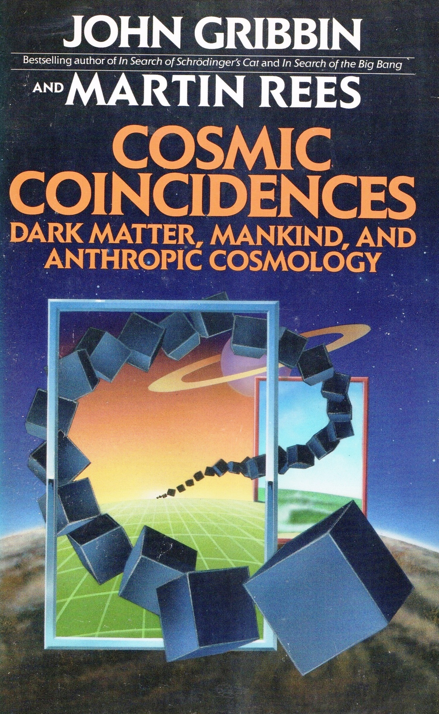 Cosmic coincidences   dark matter, mankind, and anthropic cosmology (1989, New York, NY   Bantam Books)