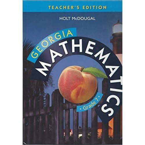 Holt McDougal Mathematics Georgia: Common Core GPS Teacher