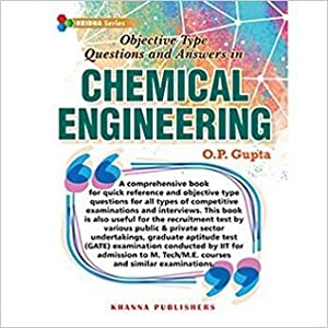 Objective Type Questions and Answers In Chemical Engineering