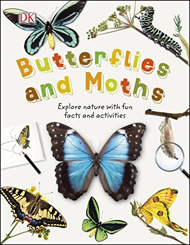 Butterflies and Moths Explore Nature with Fun Facts and Activities (Nature Explorers)
