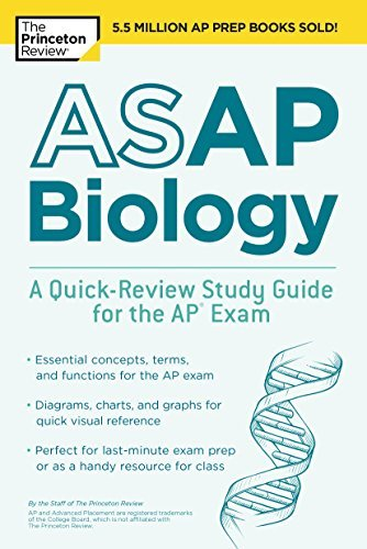 ASAP Biology A Quick-Review Study Guide for the AP Exam (College Test Preparation)