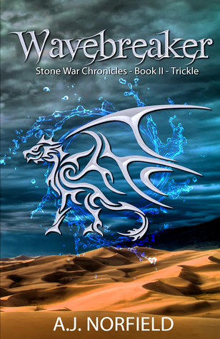 Front cover of Trickle by A.J. Norfield