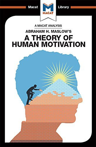 A Theory of Human Motivation - AH Maslow - Psychology and Cognitive Science