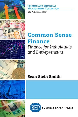 Common Sense Finance Finance for Individuals and Entrepreneurs