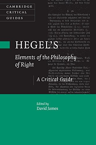 Hegel's Elements of the Philosophy of Right A Critical Guide