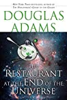 Book cover for The Restaurant at the End of the Universe (The Hitchhiker's Guide to the Galaxy, #2)