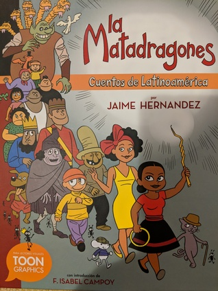 La Matadragones by Jaime Hernández