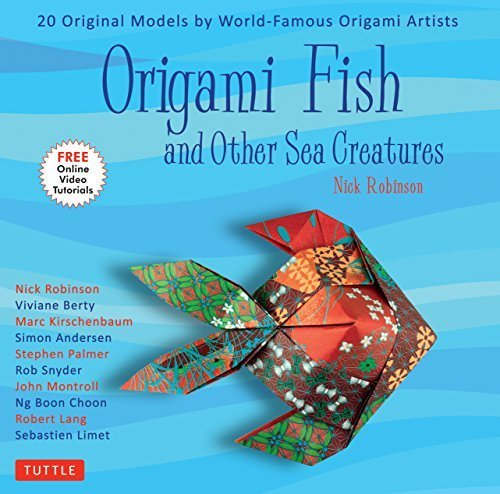 Origami Fish and Other Sea Creatures
