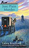 Just Plain Murder (An Amish Mystery, #6)