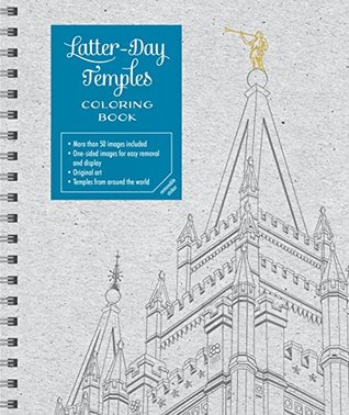 Latter-Day Temples Coloring Book