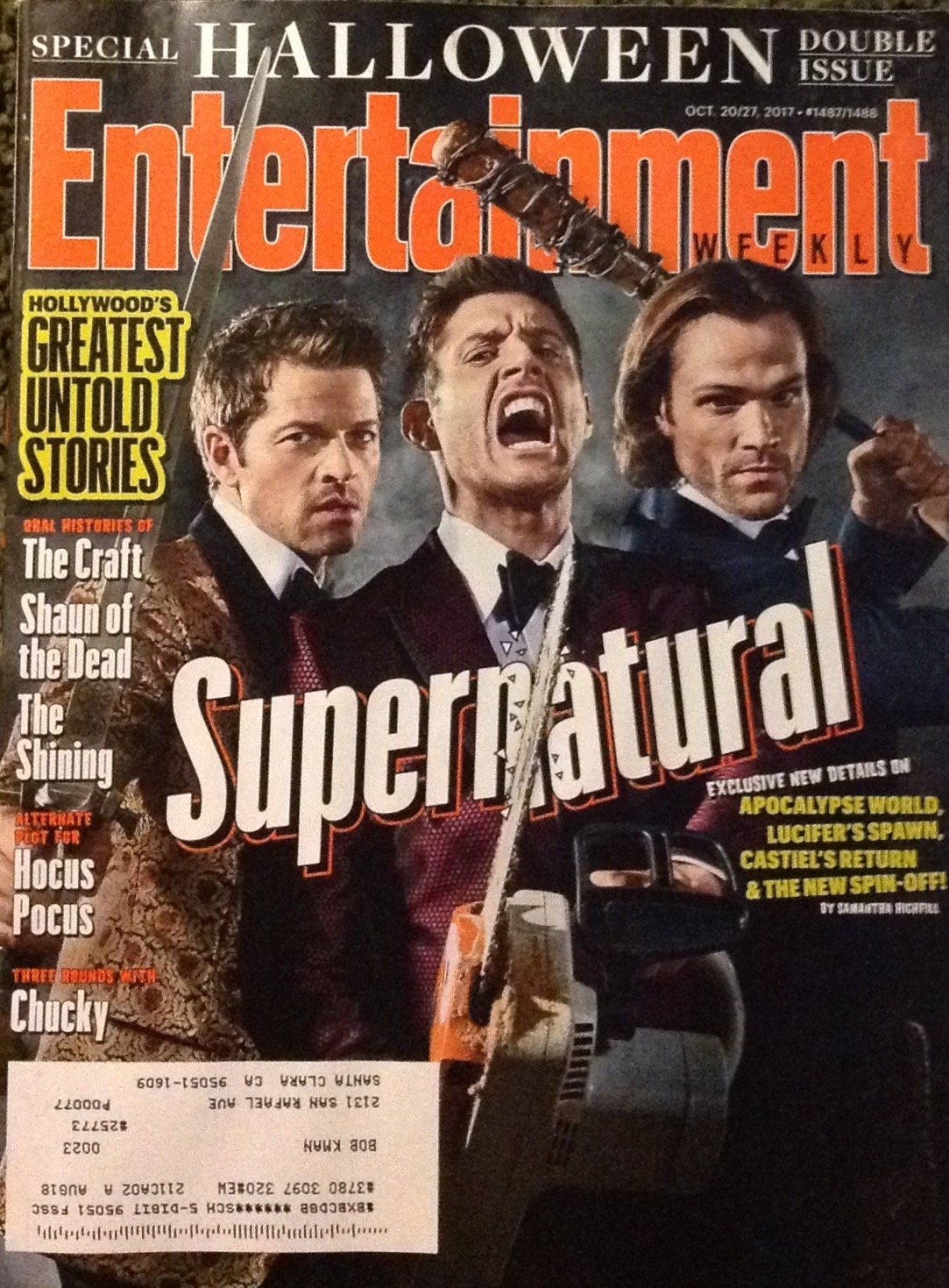 Entertainment Weekly - October 20, 2017