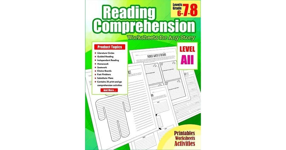 Reading Comprehension 7th Grade Reading Comprehension