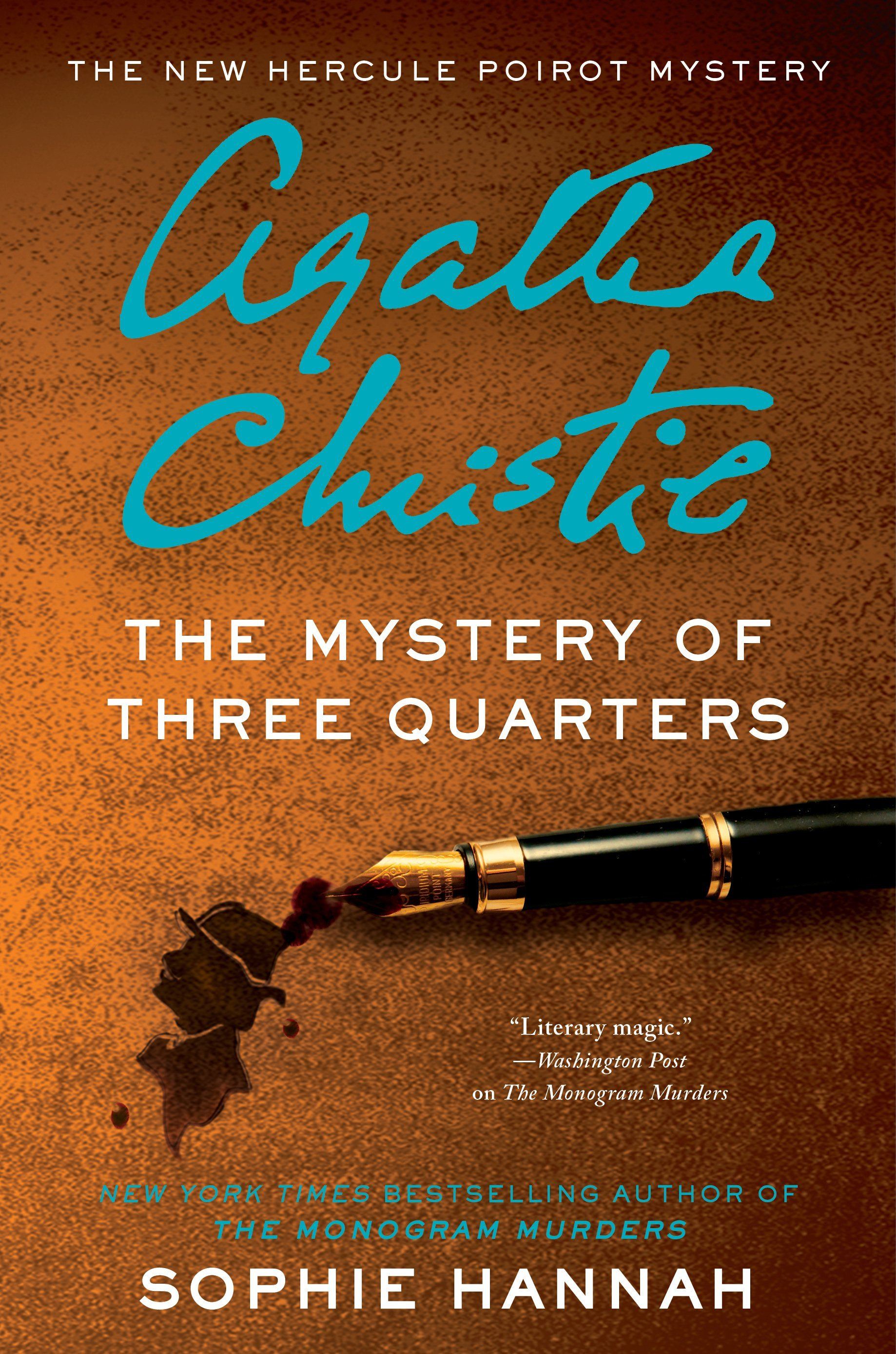 The Mystery of Three Quarters  - Sophie Hannah