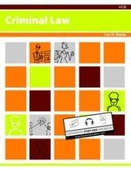 Criminal Law (Criminal Law)