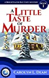 A Little Taste of Murder (A Brightwater Bay Cozy Mystery, #1)