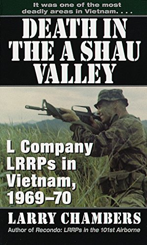 Death in the A Shau Valley L Company LRRPs in Vietnam, 1969-70