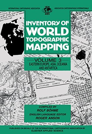 Eastern Europe, Asia, Oceania and Antarctica: 003 (International Cartographic Association) R. Böhme, R W Anson