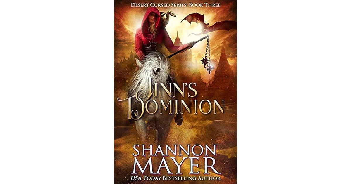 Jinn's Dominion (Desert Cursed, #3) by Shannon Mayer