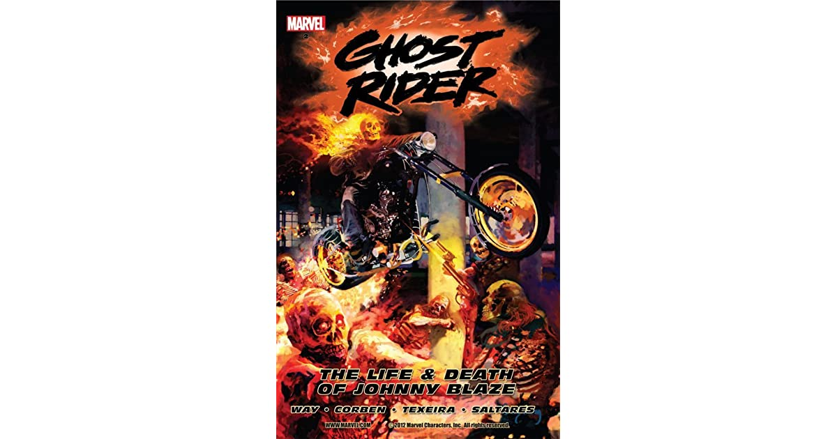 Ghost Rider, Vol  2: The Life & Death of Johnny Blaze by