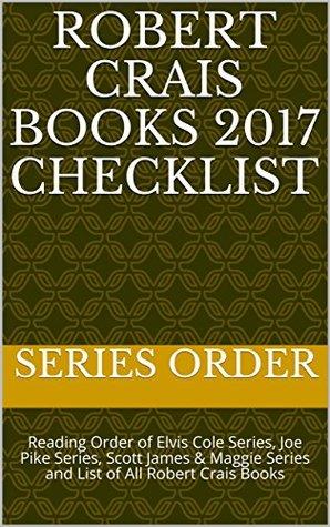 Robert crais books in order goodreads