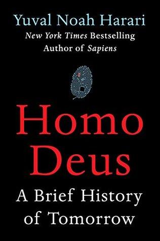 Homo Deus: A Brief History of Tomorrow cover