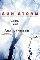 Sun Storm (Rebecka Martinsson, #1)