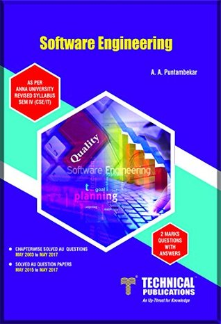 Software Engineering for ANNA University by A A Puntambekar