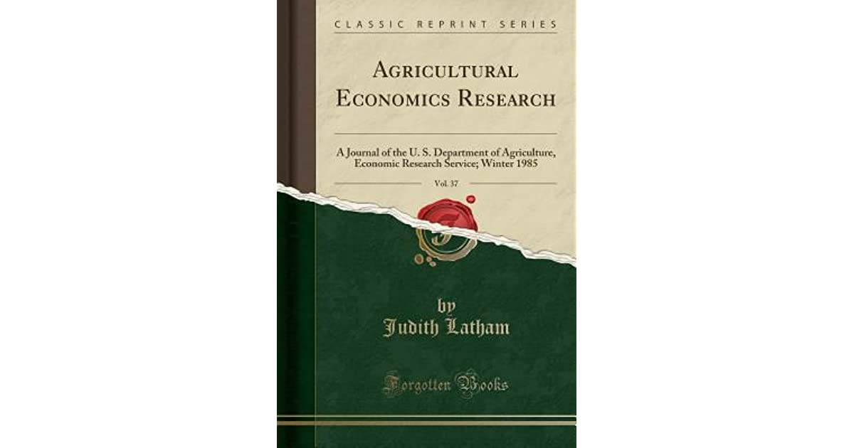 Agricultural economics phd thesis