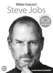Steve Jobs: Livre Audio 2 CD MP3 - 674 Mo + 591 Mo