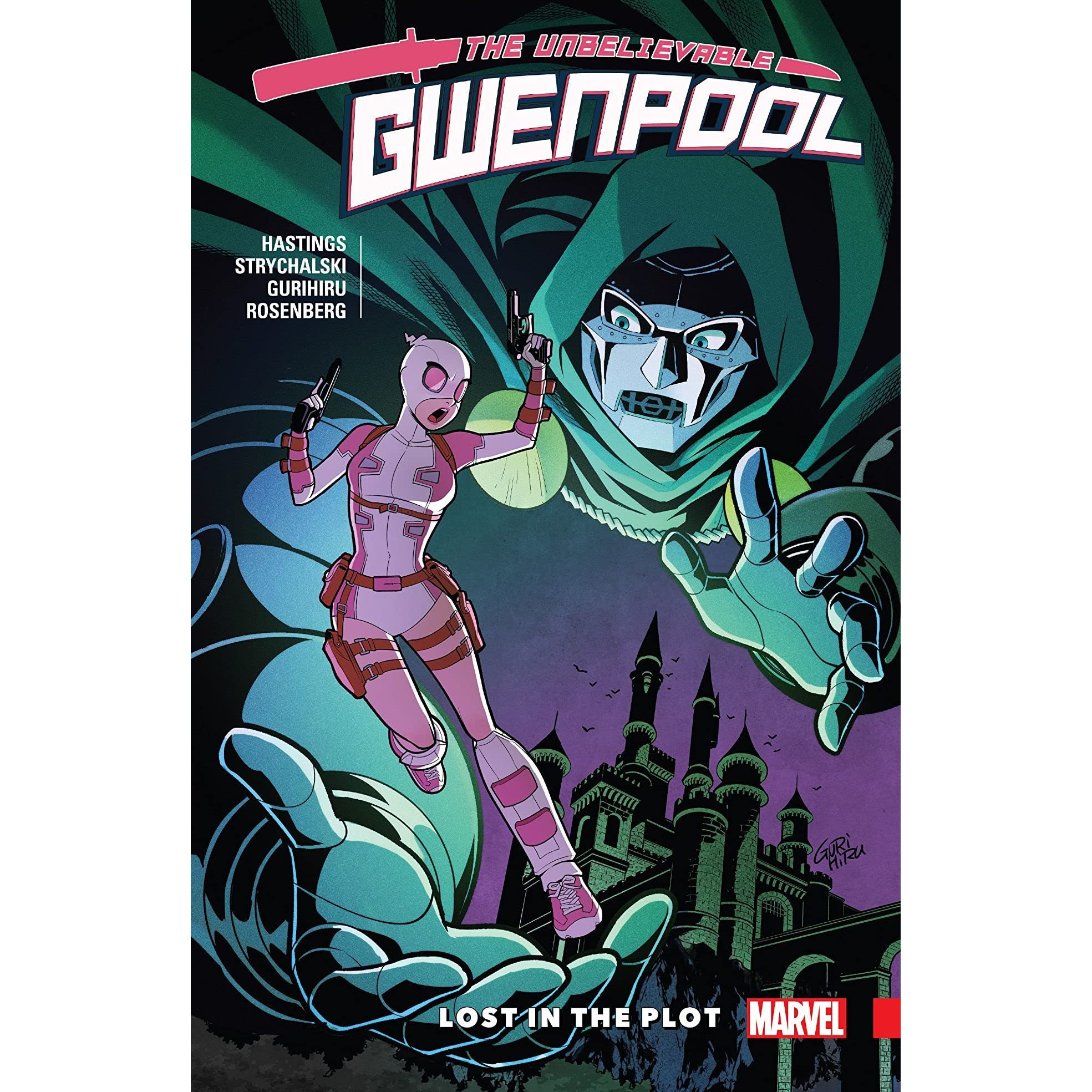 Gwenpool the unbelievable vol 5 lost in the plot by christopher gwenpool the unbelievable vol 5 lost in the plot by christopher hastings fandeluxe Image collections
