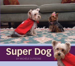 Super Dog  by  Michele Dufresne