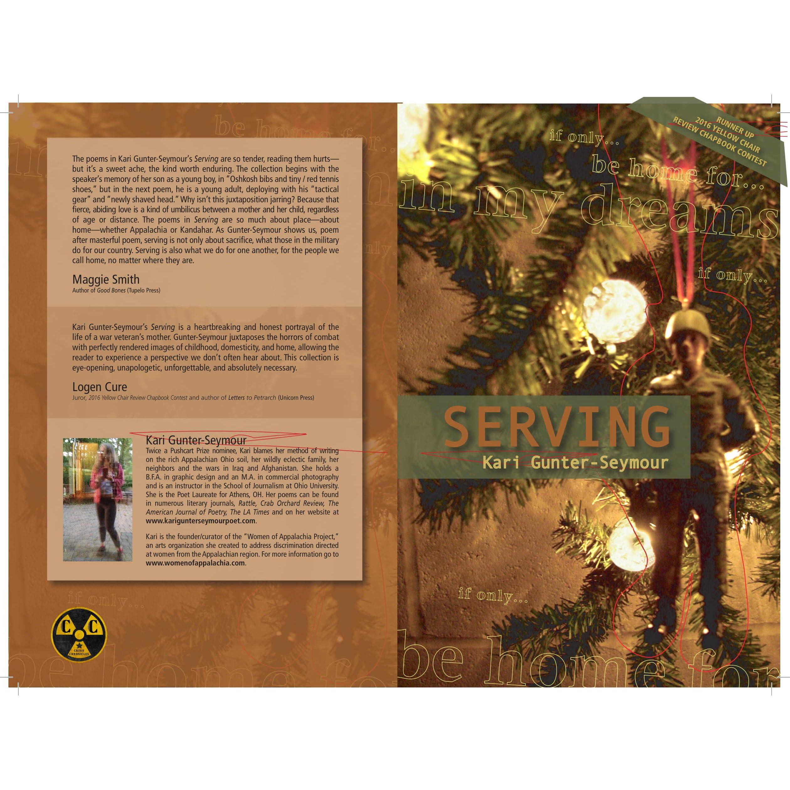 Serving by Kari Gunter Seymour