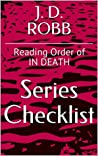 J D ROBB SERIES CHECKLIST - Reading Order of IN DEATH
