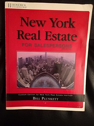 New York Real Estate for Salespersons