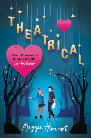 theatrical book cover