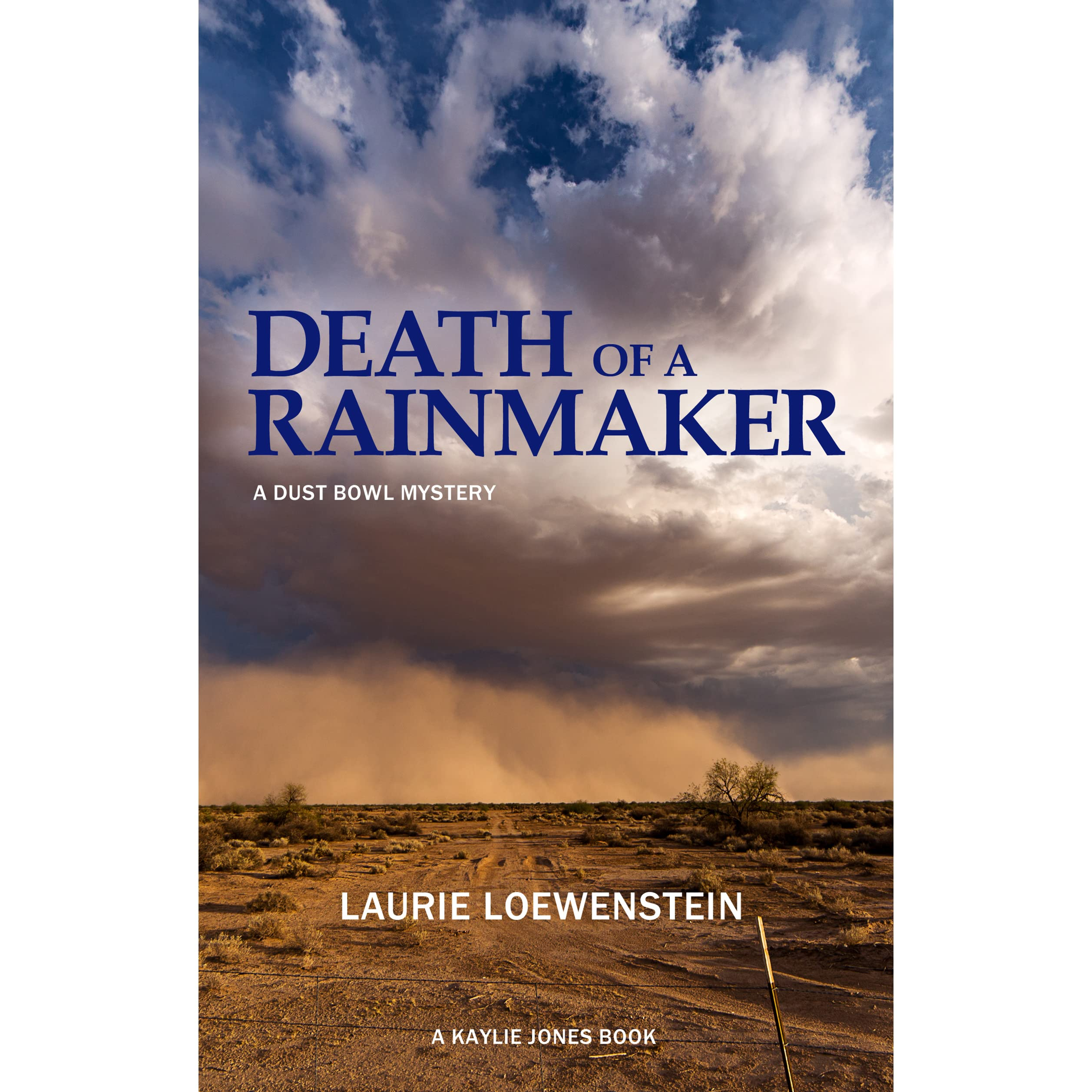 Death Of A Rainmaker A Dust Bowl Mystery By Laurie Loewenstein