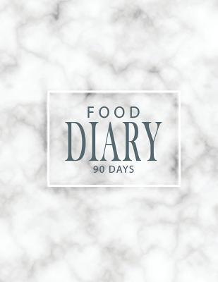 Food Diary 90 Days: Track and Plan Your Meals, Daily Weight Loss