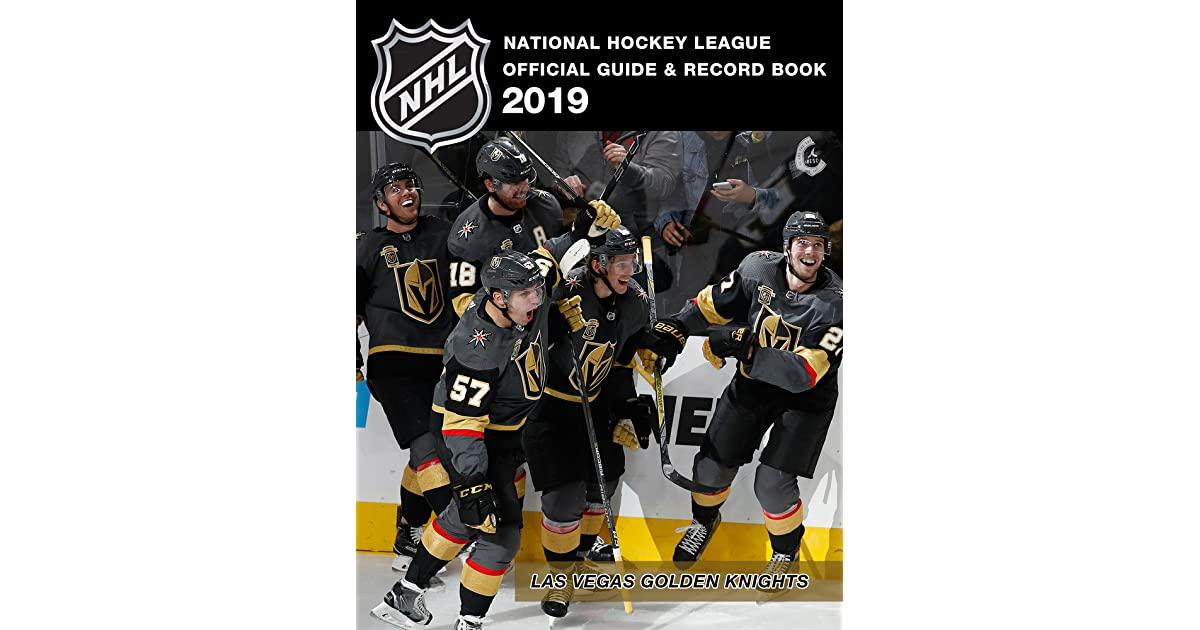 National Hockey League Official Guide Record Book 2019 By National