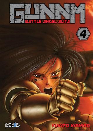 Gunnm - Battle Angel Alita, tomo 4 by Yukito Kishiro
