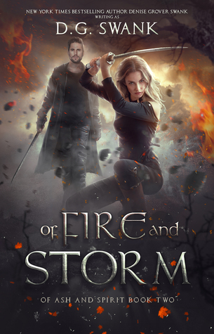 Of Fire and Storm: A Curse Keeper Novel (Of Ash and Spirit Trilogy #2)