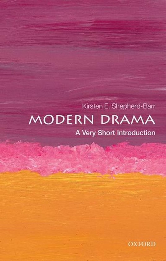 Modern Drama A Very Short Introduction