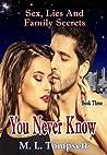 You Never Know (Sex, Lies And Family Secrets, #3)