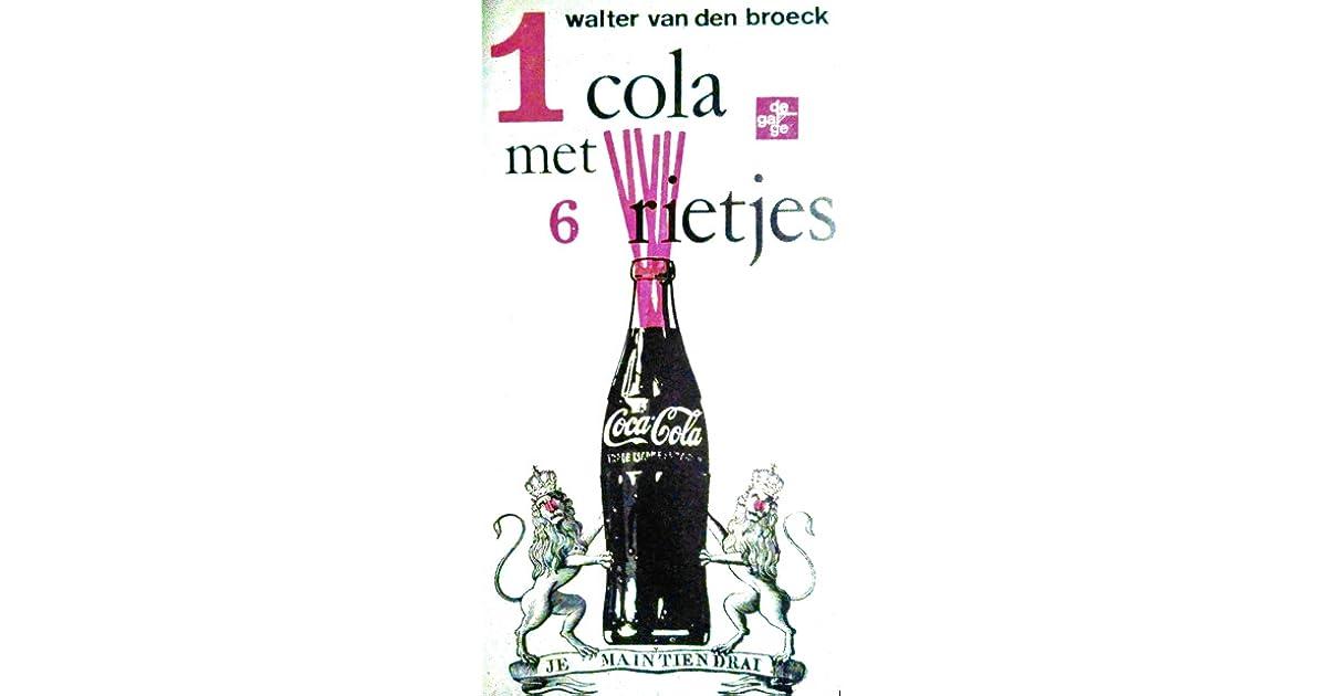 1 Cola Met 6 Rietjes By Walter Van Den Broeck