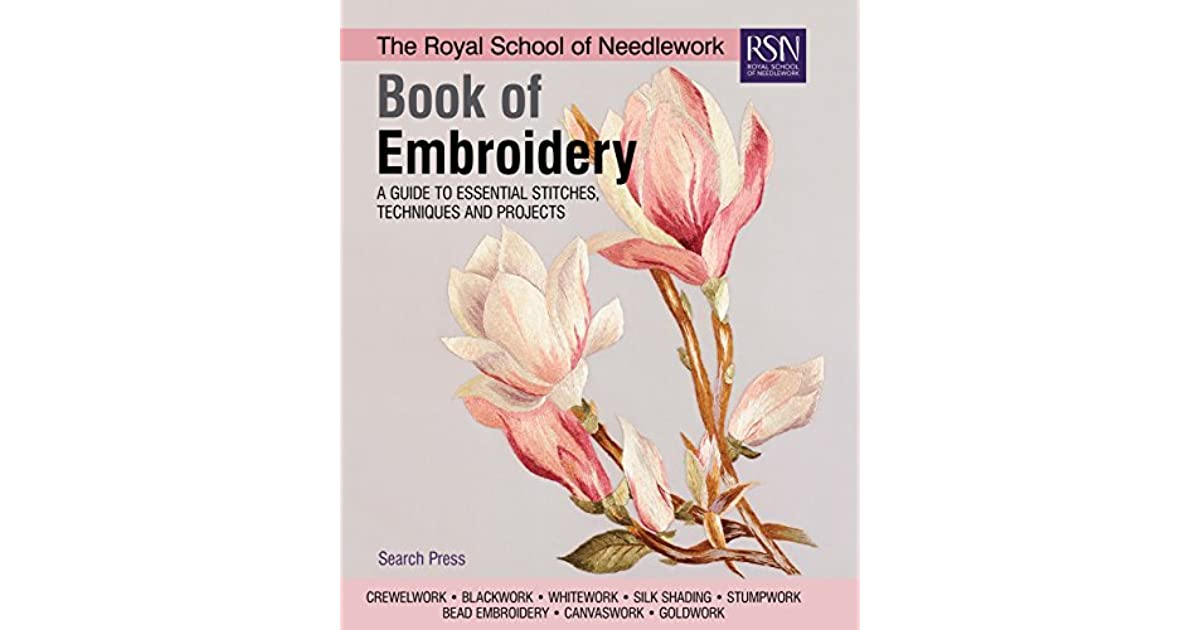 Royal School of Needlwork Stitch Guide RSN Stumpwork Kate Sinton