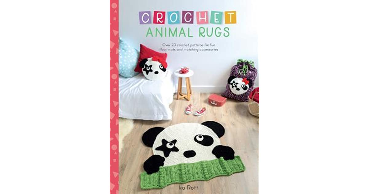 Crochet Animal Rugs Over 20