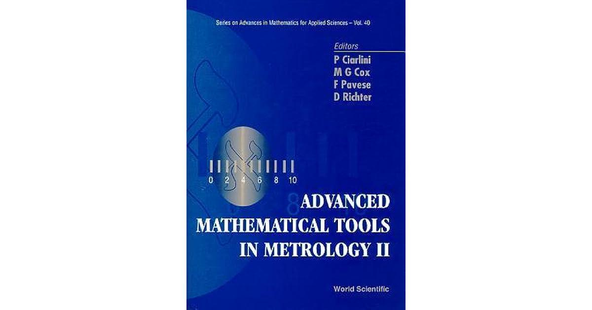 Advanced Mathematical Tools in Metrology II by Patrizia Ciarlini