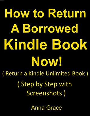 How to return books on amazon kindle unlimited