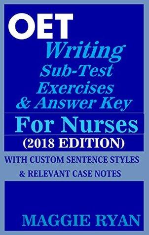OET Writing for Nurses by Maggie Ryan: Updated 2018 OET 2 0