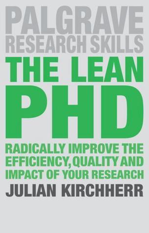 The Lean PhD by Julian Kirchherr