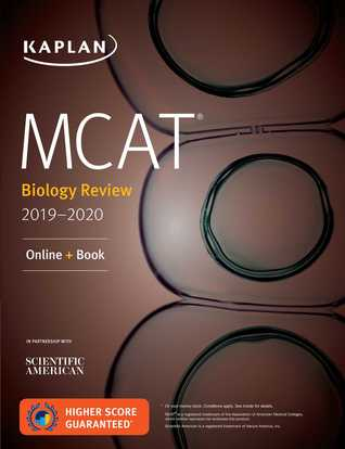 MCAT Biology Review 2019-2020: Online + Book